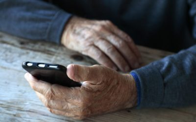 The delicate issue of taking away a senior's smartphone